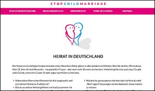 Homepage Stop Childmarriage