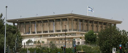 Knesset. Foto: © James Emery, Creative Commons licence