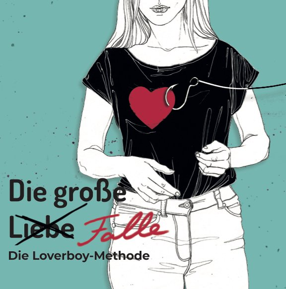 Unser Infoflyer zur Loverboy-Methode. Illustration: Joanna Broda/Mona Kakanj