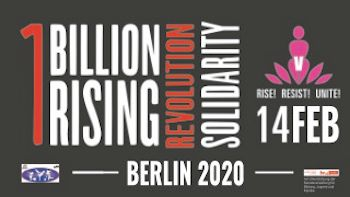 Logo des One Billion Rising Tages 2020